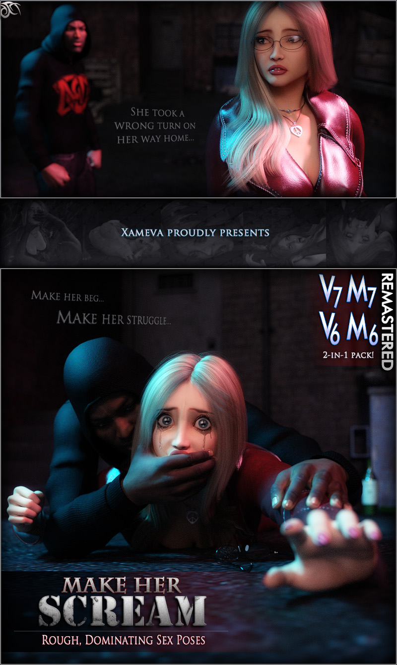Make Her Scream - Poses For V6/M6 And V7/M7