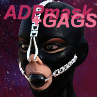 Azarea Dark Pleasure Mask And Gags