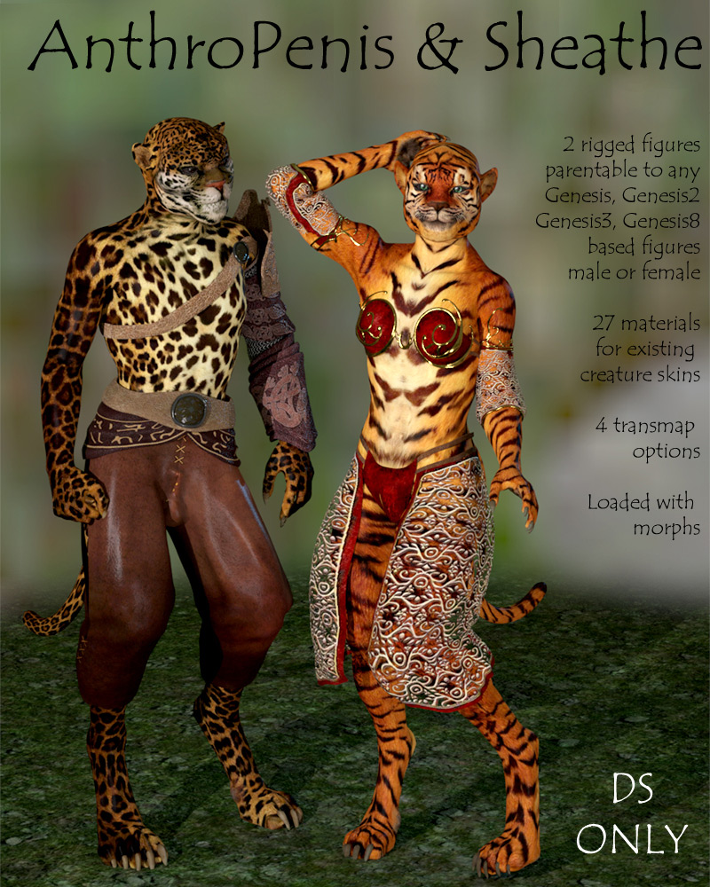 Anthro Penis & Sheathe