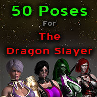 50 Poses For The Dragon Slayer