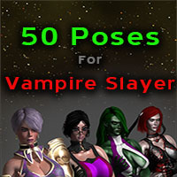 50 Poses For Vampire Slayer