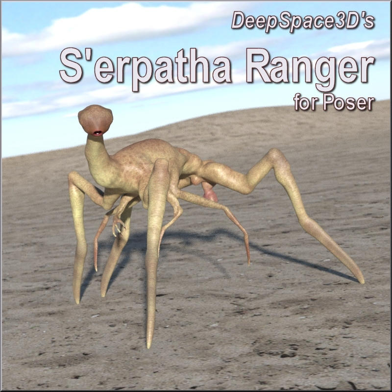 S'erpatha Ranger For Poser