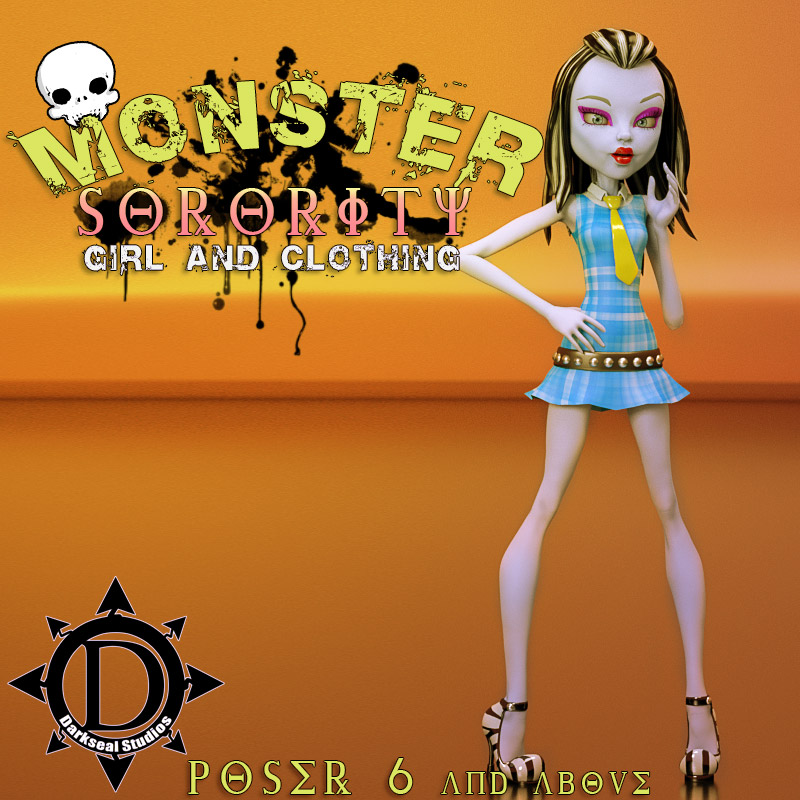 Monster Sorority Girl And Clothing
