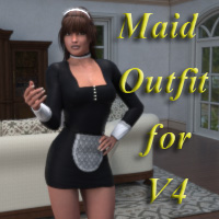 Maid's Outfit for V4