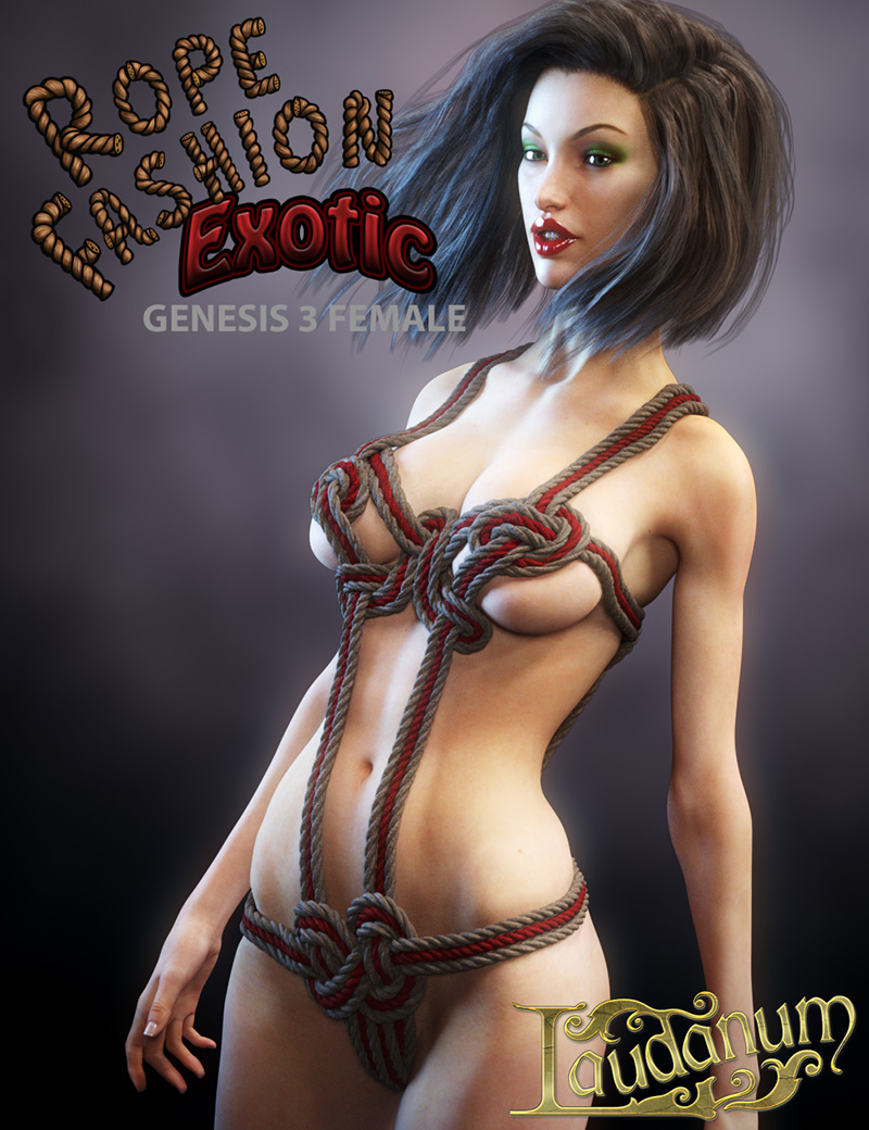 Rope Fashion Exotic For Genesis 3 Female
