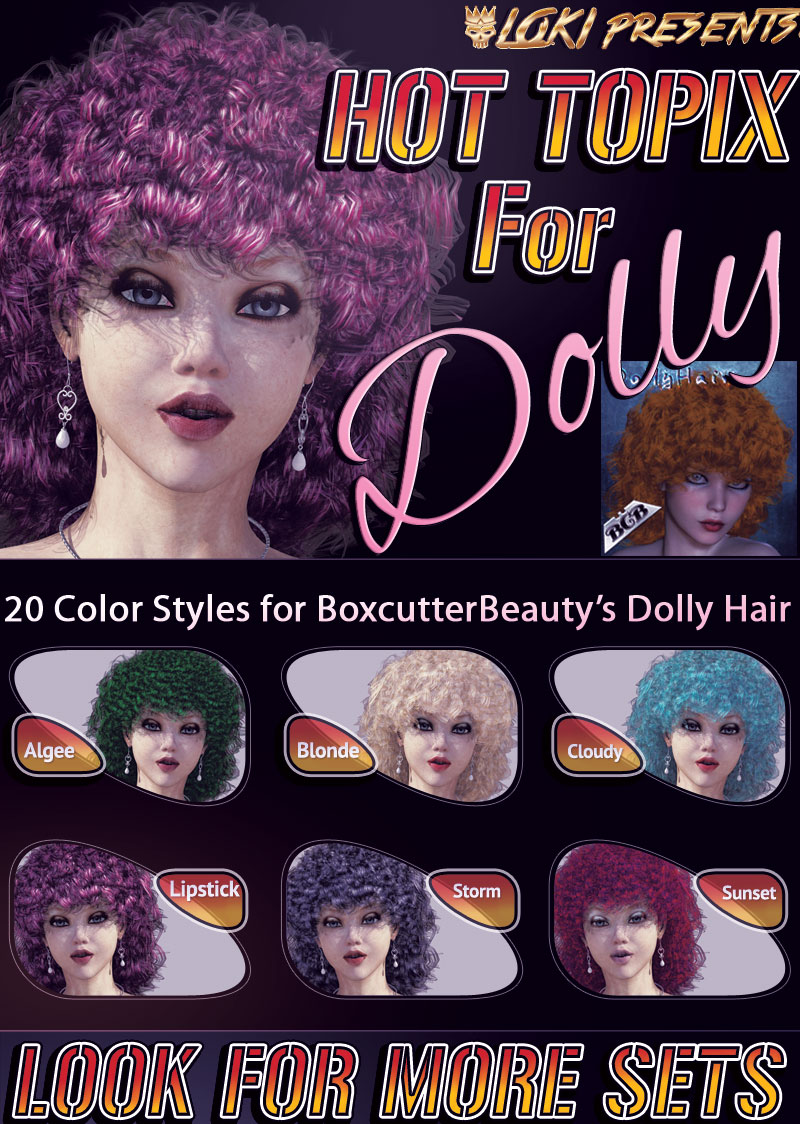 HotTopix for Dolly Hair