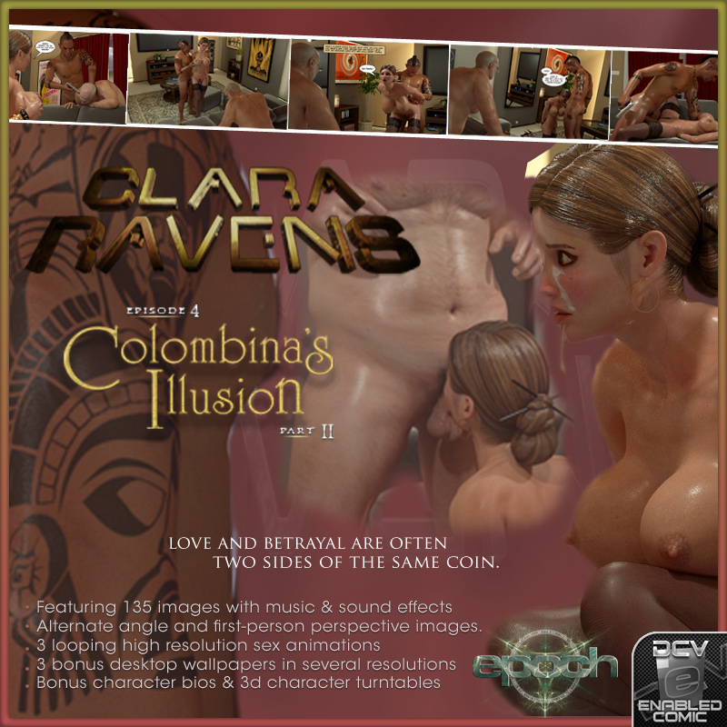 Clara Ravens Episode 4: Colombina's Illusion Part II
