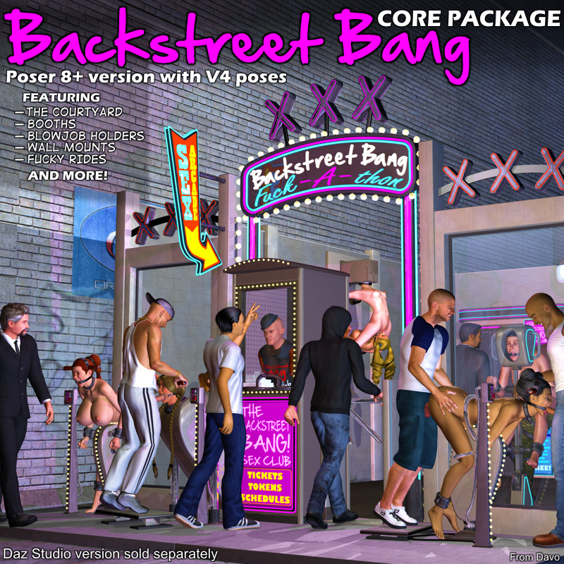 Backstreet Bang Core Package For P8+