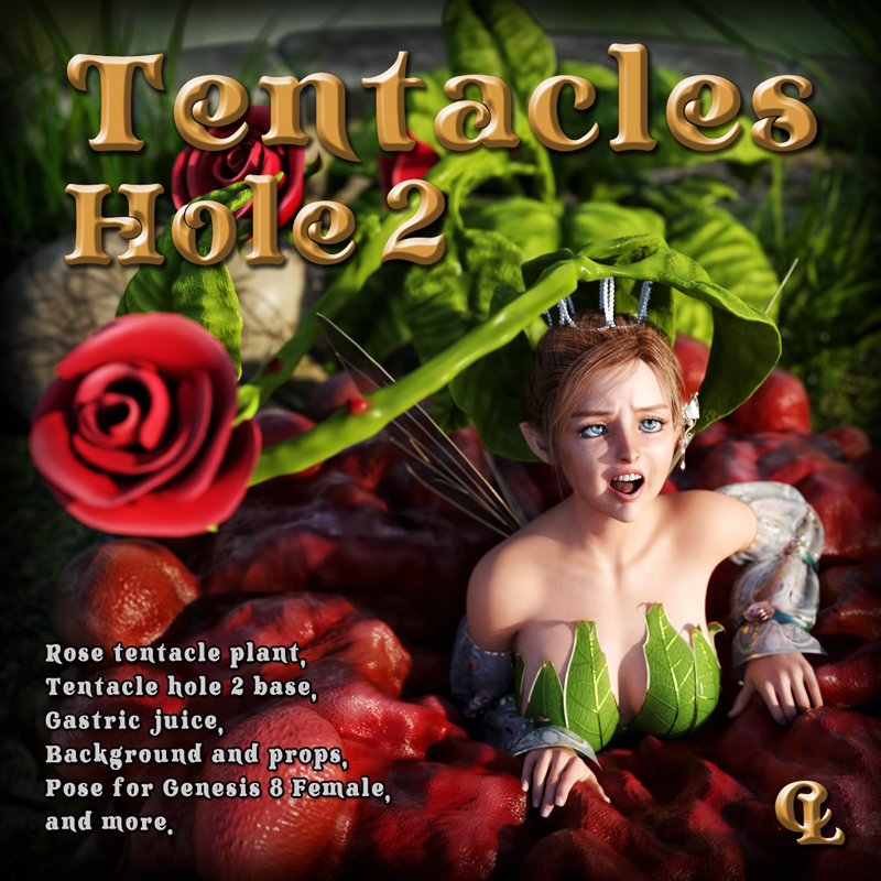 Tentacles Hole 2 For Daz Studio
