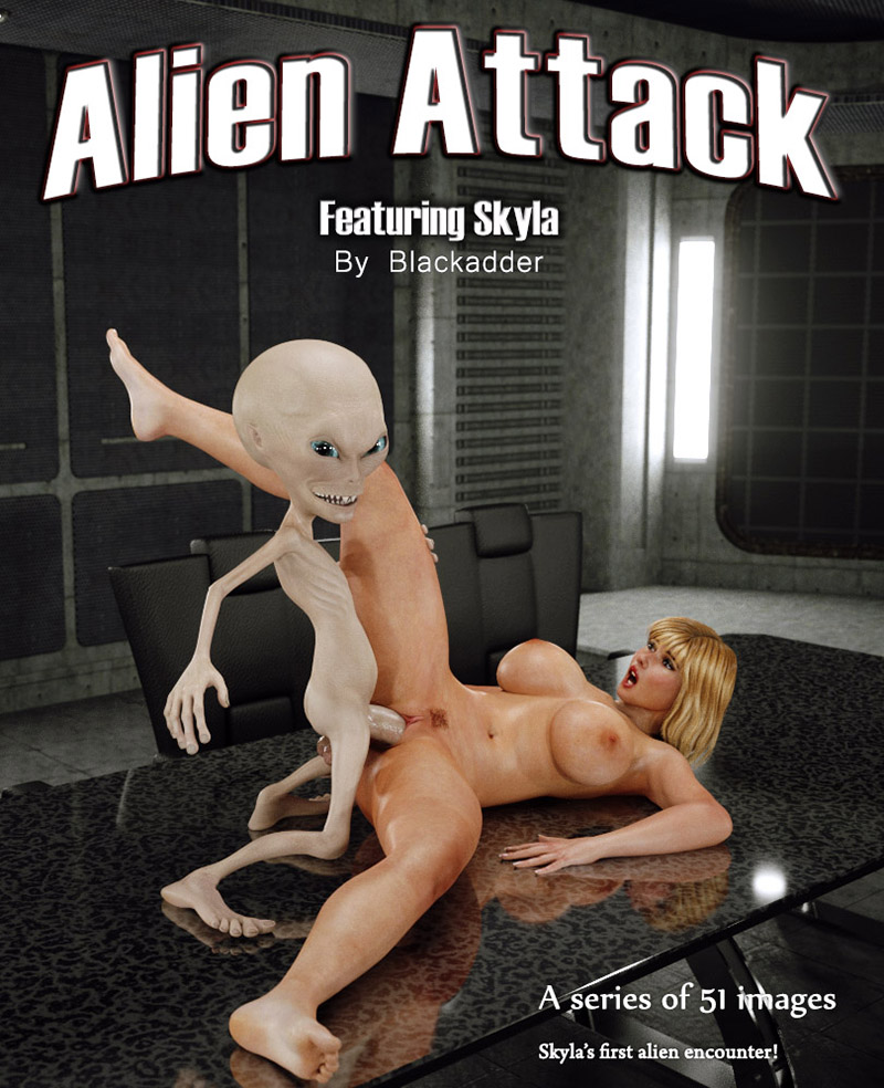 Blackadder's Alien Attack