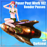 Poser Post Work 102 Render Passes