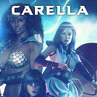 Carella The Sorceress Issue 1