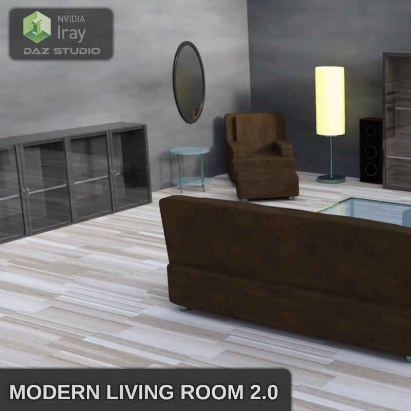 Modern Living Room 2.0