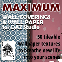 Maximum Wall Coverings And Wallpaper For Daz Studio
