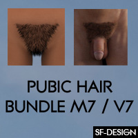 Pubic Hair Bundle For M7 And V7