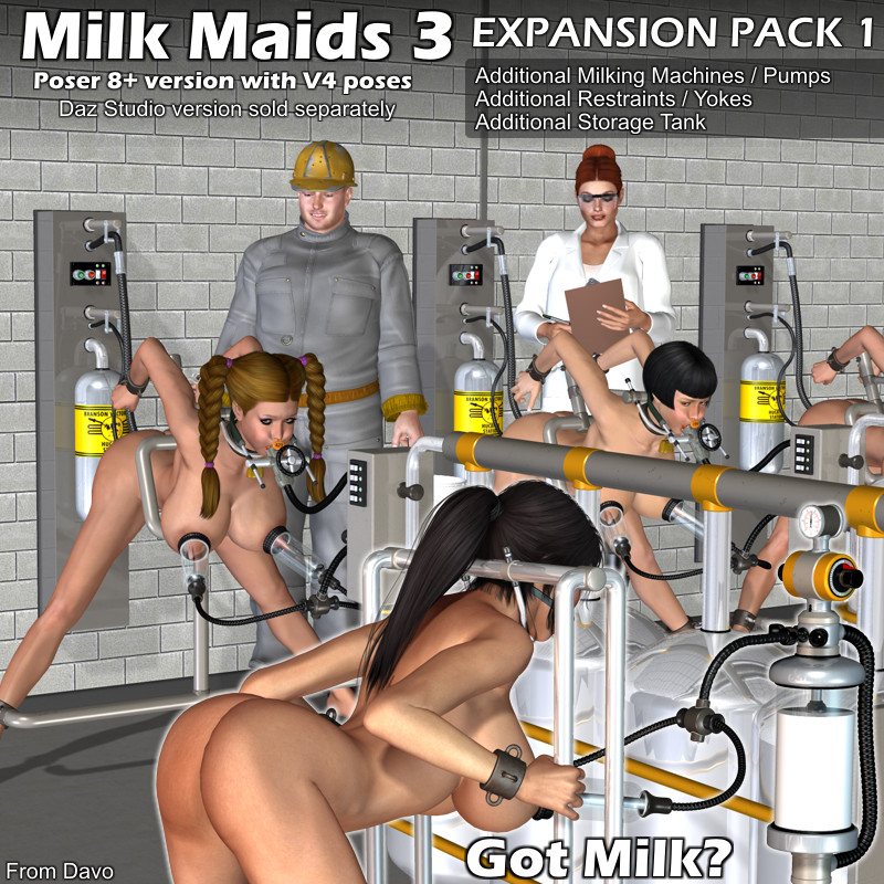 """Milk Maids 3"" Expansion Pack 1"