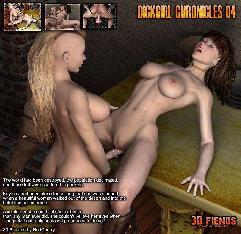 3D Fiends' Dickgirl Chronicles 04