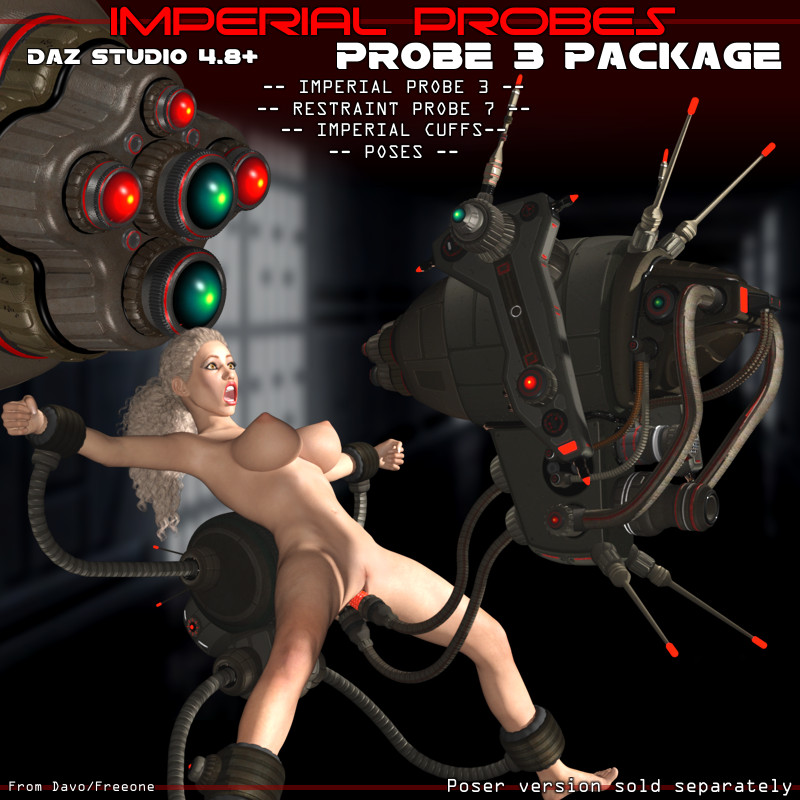 "Imperial Probes ""Probe 3"" For DazStudio 4.8+"