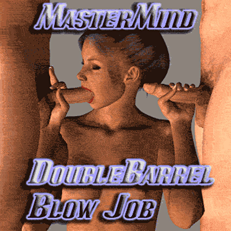 MasterMind's Double Barrel Blowjob Animation Pose Set
