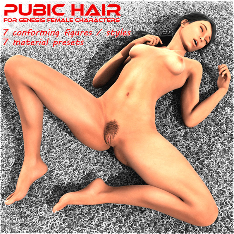 Tigerfish's Pubic Hair for Genesis Female