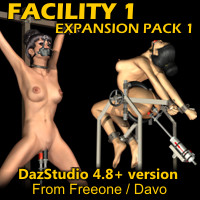 Facility 1 Expansion Pack 1 For DazStudio 4.8+