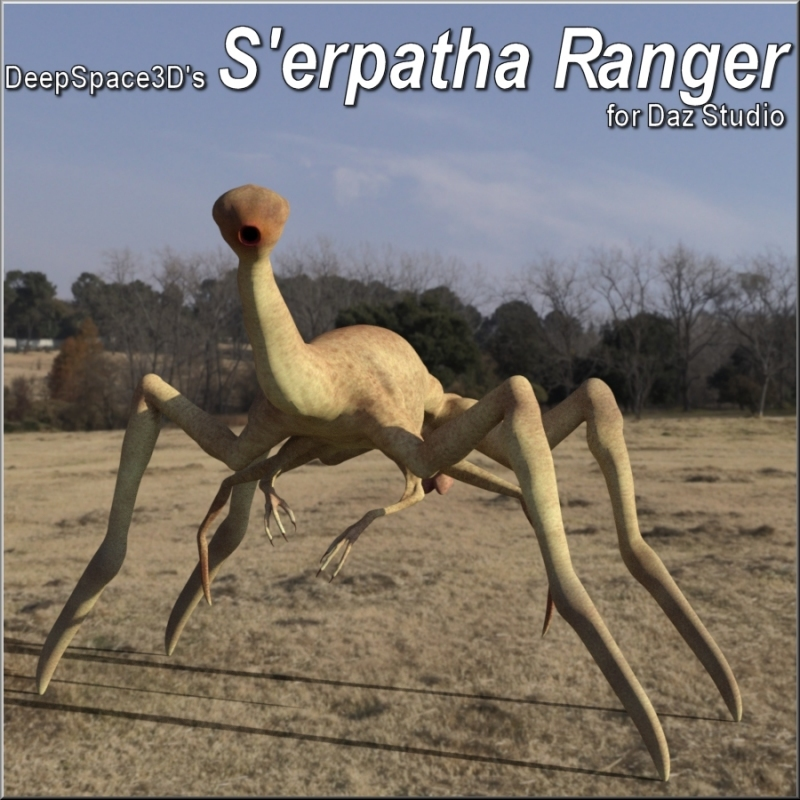 S'erpatha Ranger For Daz Studio