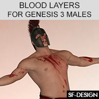Blood Layers For Genesis 3 Males And Merchant Resource