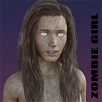 Zombie Girl For Genesis 8 Female