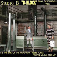 "Legacy Davo Studio B ""D-BLOCK"" Torture And Execution Package"