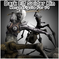 SpiderKin / Dark Elf Rogue for V4