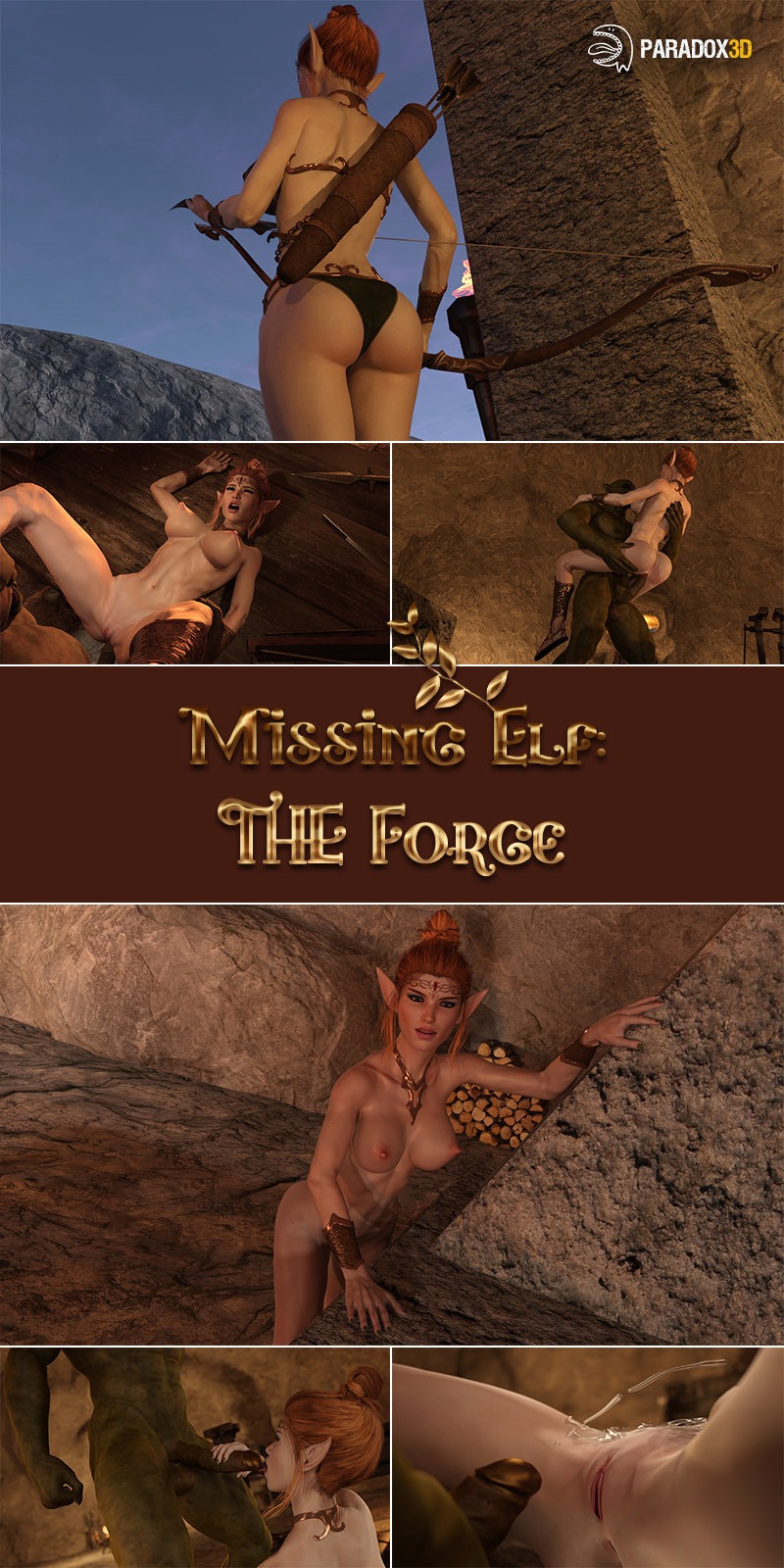 Missing Elf: The Forge