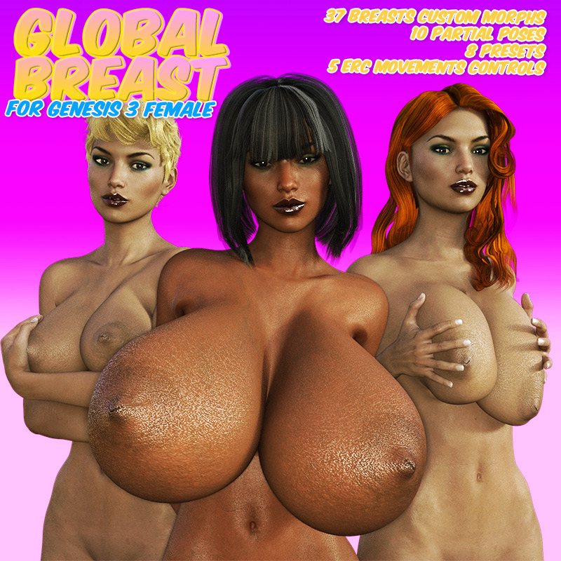 Global Breast For G3F