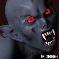Thana Vampire For Genesis 3 Female