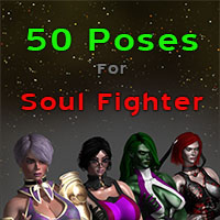 50 Poses For Soul Fighter