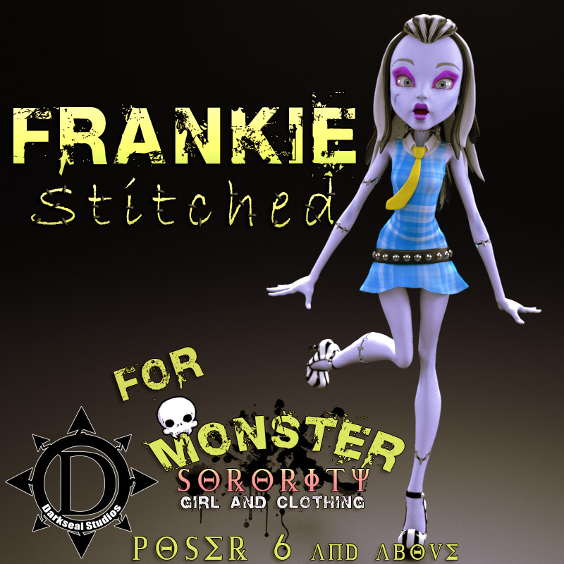 Monster Sorority: Frankie Stitched