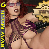 Babeworld Wrestling Match 6