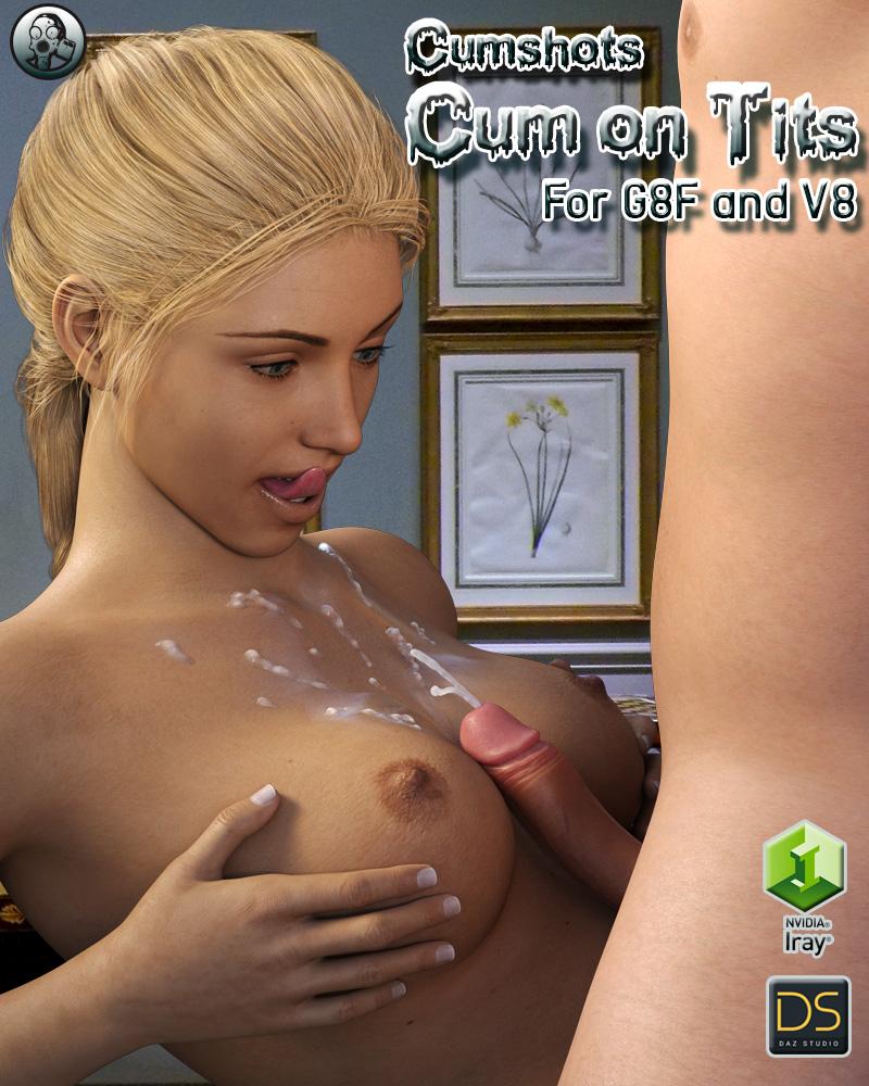 Cumshots On Tits