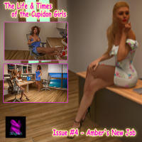 The Cupidon Girls Issue #4 - Amber's First Job