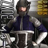 Dark Void ZX02 Suit For M4