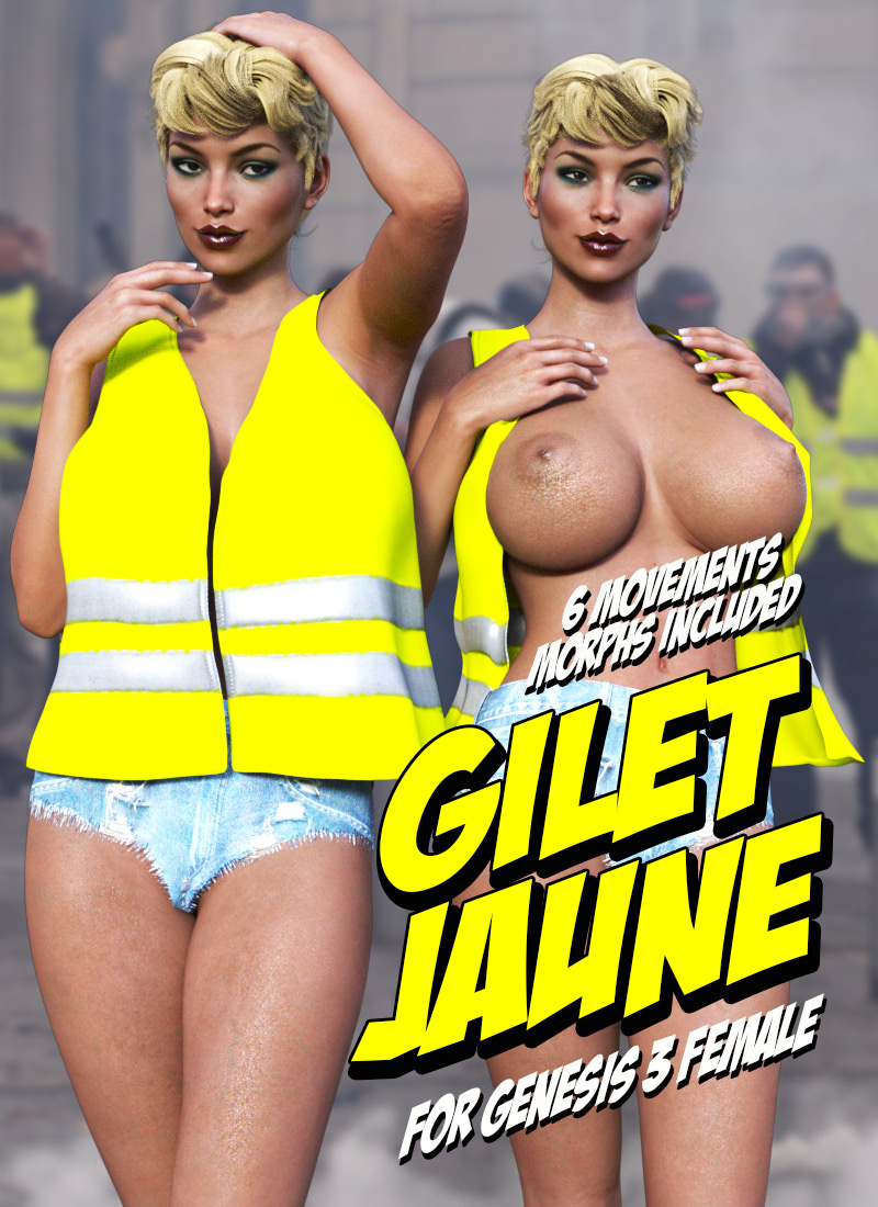 Gilet Jaune For G3F