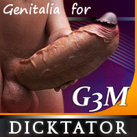 Dicktator For Genesis 3 Male
