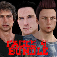 Faces 4 Bundle For G1M, G2M, G3M, M5, M6 And M7