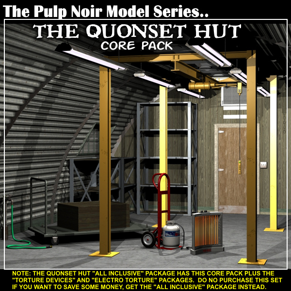 "Davo's Quonset Hut ""Core Pack"""