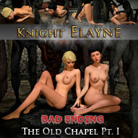 Knight Elayne - Secrets of the Tavern BAD ENDING Part1