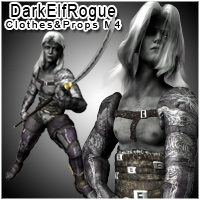 SpiderKin / Dark Elf Rogue for M4