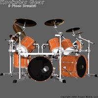 Rock Star Drums
