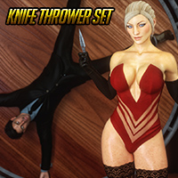 Knife Thrower Set