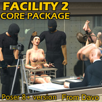 """Facility 2"" Core Pack Poser 8+ Version"