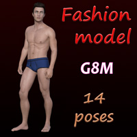 Fashion Model For G8M