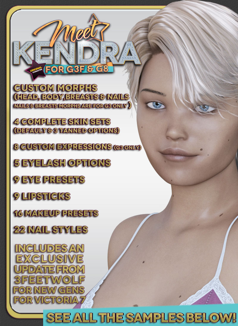 Kendra For G3F-G8